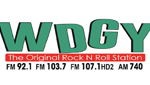 """WDGY """"The Original Rock and Roll Station"""""""